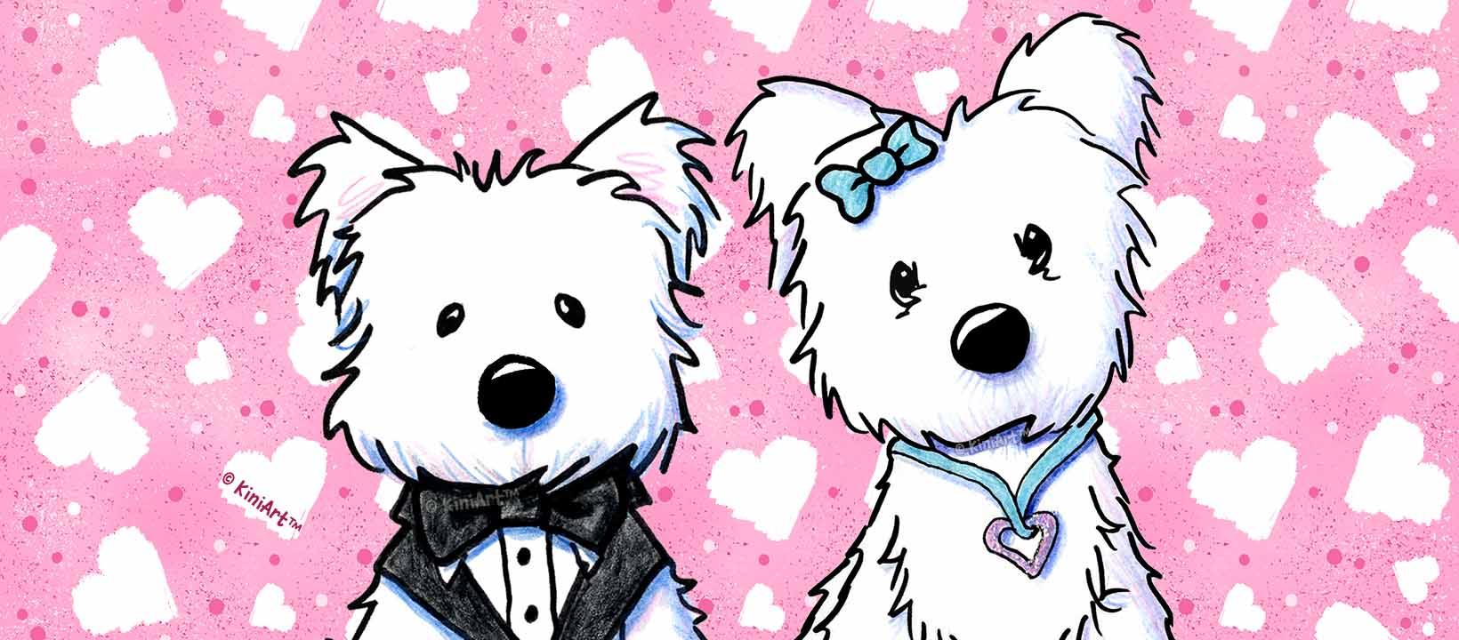 KiniArt Westie Valentines