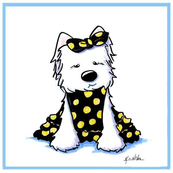 Westie Terrier Little Beauty