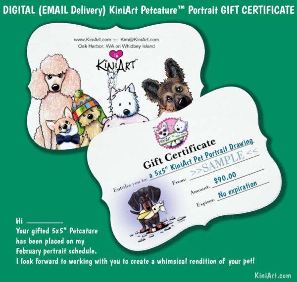 Sample Gift Certificate