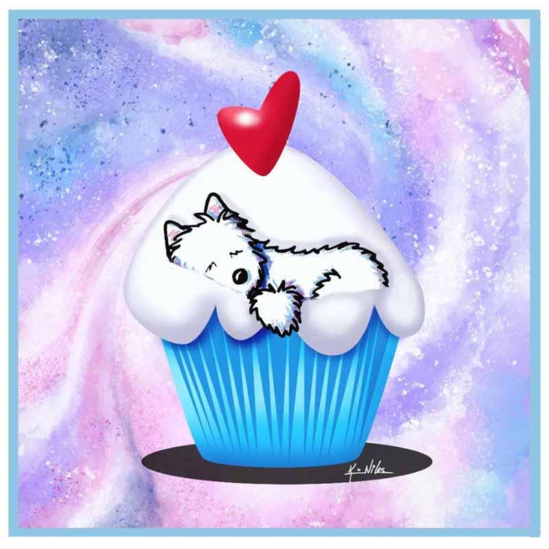 Cupcake Westie