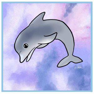 KiniArt Dolphin