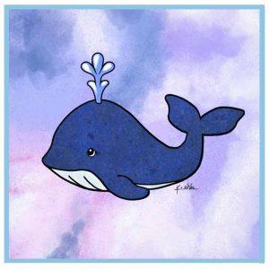 KiniArt Whale