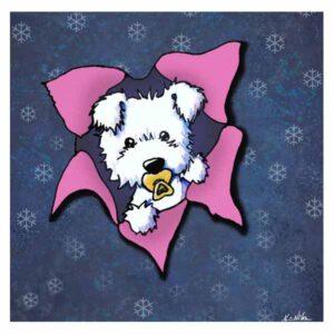 KiniArt Westie Pup Blast