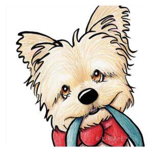 KiniArt Festive Terrier