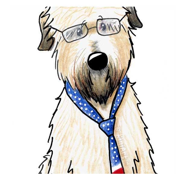 KiniArt Wheaten Terrier