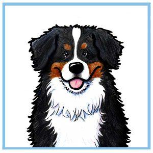 KiniArt Bernese Mountain Dog