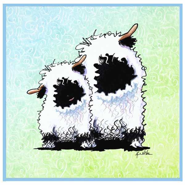 Kiniart Valais Blacknose Sheep