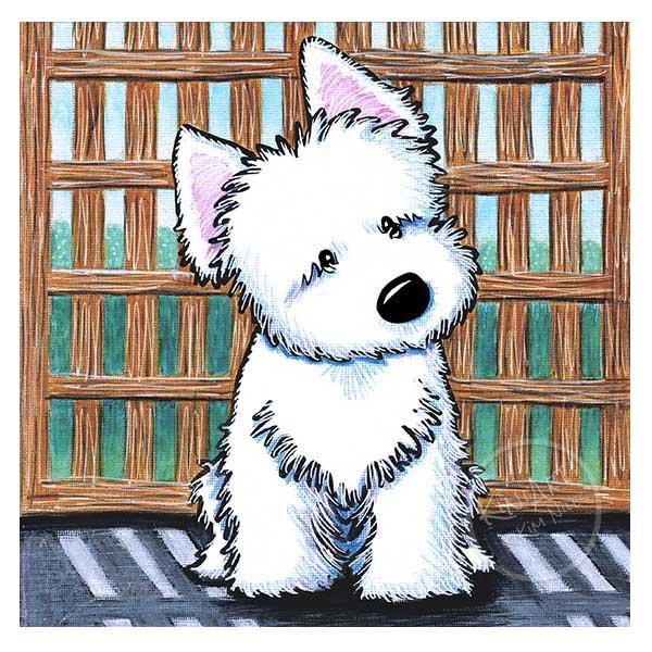 KiniArt Westie Puppy