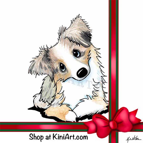 KiniArt Aussie Shepherd Art