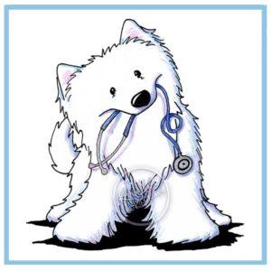 KiniArt Samoyed Doctor