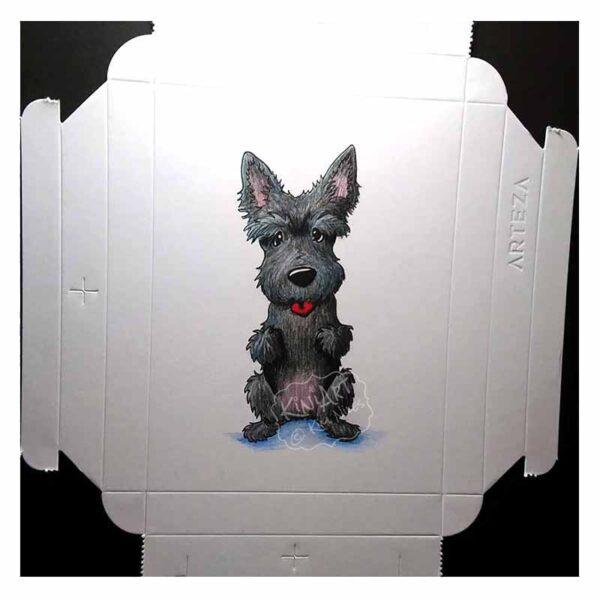 KiniArt Scottie Dog