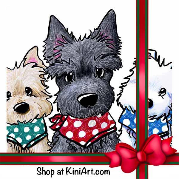 Terrier Trio