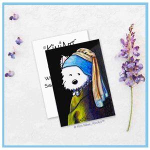 KiniArt Vermeer Westie