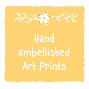 Prints Hand Embellished