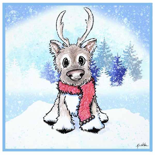 KiniArt Reindeer
