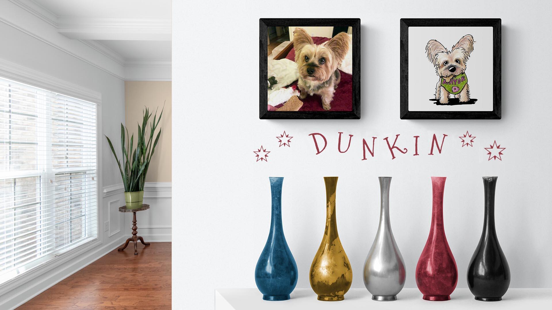 Dunkin's Portrait