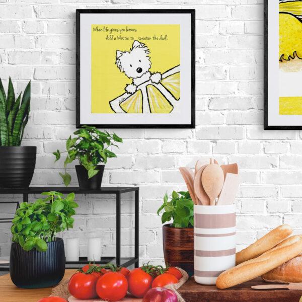 KiniArt Lemon Westie