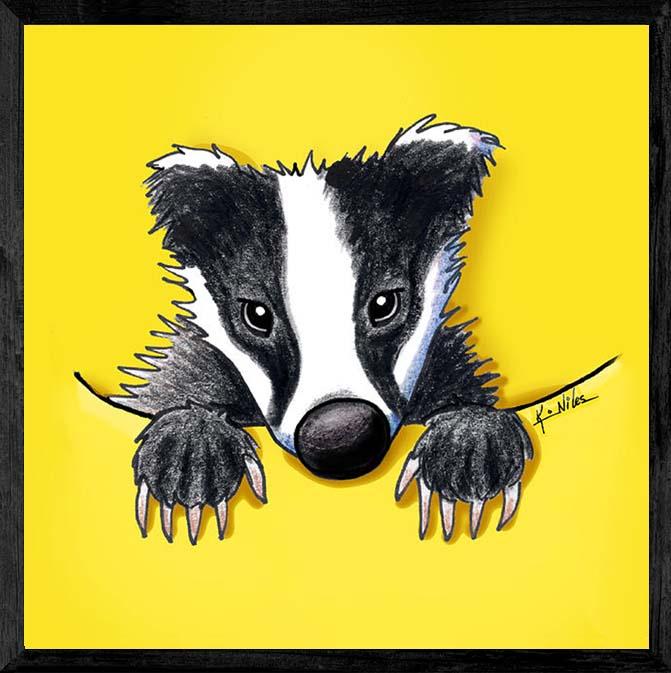 KiniArt Badger