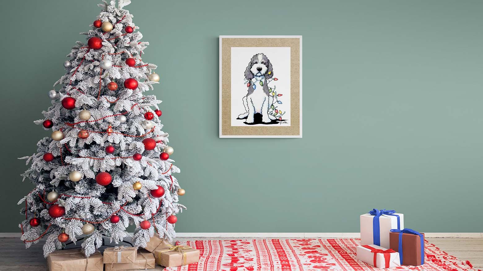 KiniArt Christmas Parti Doodle