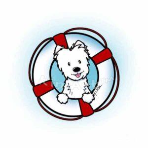 KiniArt Westie Rescue